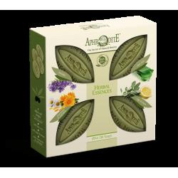 APHRODITE Herbal Essences Four Soaps Gift Set (Z-4A)