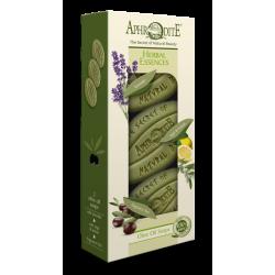 APHRODITE Herbal Essences Three Soaps Gift Set (Z-3A)