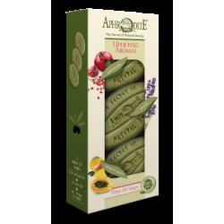 APHRODITE Uplifting Aromas Three Soaps Gift Set (Z-3C)