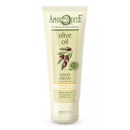 APHRODITE Velvety Soft Hand Cream with Avocado & Chamomile (Z-8A)