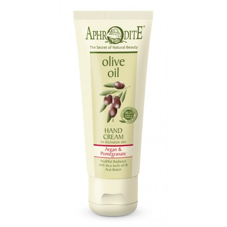 APHRODITE Youthful Radiance Hand Cream with Argan & Pomegranate (Z-8D)