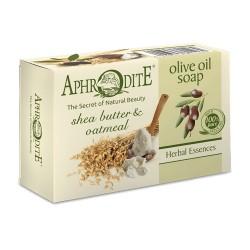 APHRODITE Olivenölseife mit Sheabutter & Haferkleie (Z-75)