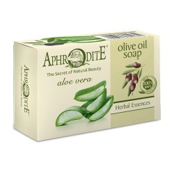 APHRODITE Оливковое мыло с алоэ вера (Z-81)