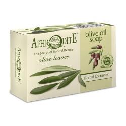 APHRODITE Olivenölseife mit Olivenblättern (Z-73)