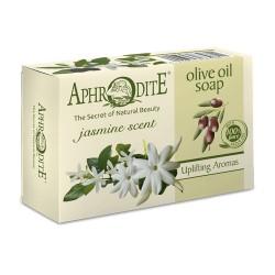 APHRODITE Olive oil soap with Jasmine scent (Z-78) 100g / 3 38 oz