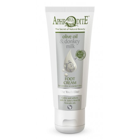 APHRODITE The Youth Elixir Foot Cream for dry skin/cracked heels (D-38)