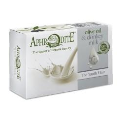 """APHRODITE """"Jugend Elixier"""" Olivenölseife mit Eselsmilch (D-82)"""