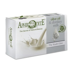 APHRODITE The Youth Elixir Olive oil & Donkey Milk soap (D-82)