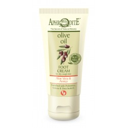 APHRODITE Extra soft Foot Cream with Aloe Vera & Prebiotics for dry/rough skin (Z-38SA)