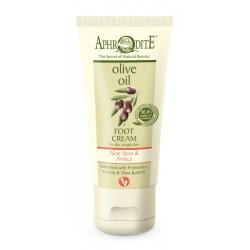 APHRODITE Extra soft Foot Cream with Aloe Vera & Prebiotics for dry/rough skin (Z-38SA)