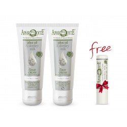APHRODITE Donkey milk Hands & Feet care pack (DM-08)