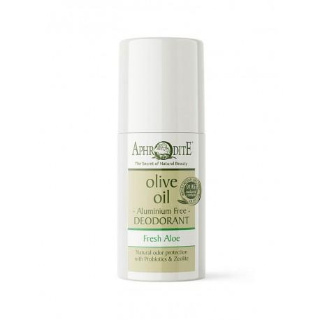"APHRODITE Aluminum Free Deodorant Roll-on ""Fresh Aloe"" (Z-60)"