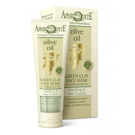 APHRODITE Mattifying & Pore Control Green Clay Face Mask (Z-25O)