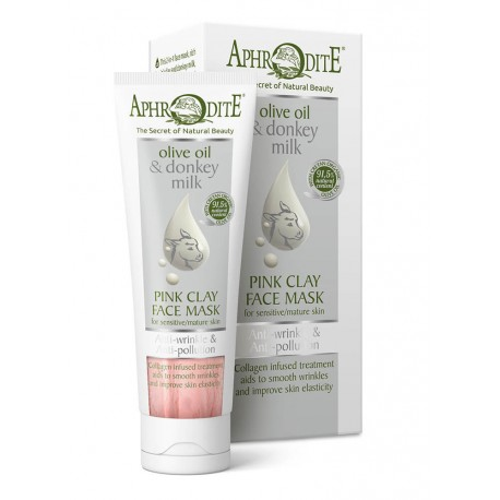 APHRODITE Anti-Wrinkle & Anti-Pollution Pink Clay Face Mask (D-25)