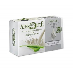 APHRODITE Olive oil & donkey milk soap with Aloe vera (D-81)