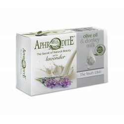 APHRODITE Olive oil & Donkey milk Olive oil soap with Lavender (D-83)