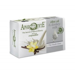 APHRODITE Olive Oil & Donkey Milk Soap with Vanilla scent (D-84)