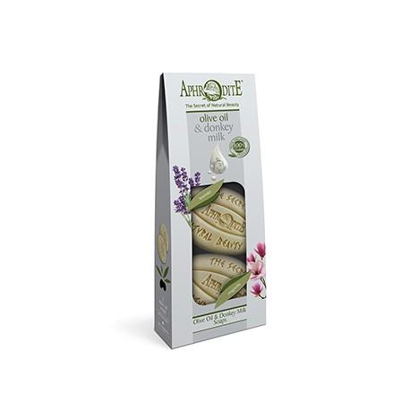 APHRODITE 2 Olive Oil & Donkey Milk Soaps Pack (D-2B)