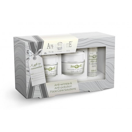 "APHRODITE Face Care ""Anti-wrinkle & Antipollution"" Gift Set (D-102)"